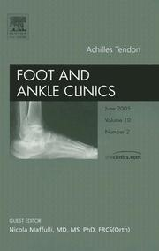 Achilles Tendon: An Issue of Foot and Ankle Clinics (The Clinics: Orthopedics) PDF