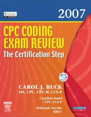 CPC Coding Exam Review 2007: The Certification Step (CPC Coding Exam Review: Certification Step) PDF