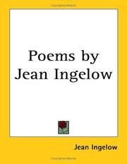Poems by Jean Ingelow PDF