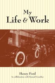 My Life and Work PDF