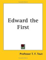 Edward the First by T. F. Tout