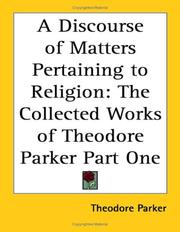 A Discourse of Matters Pertaining to Religion PDF