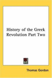 History of the Greek Revolution Part Two PDF