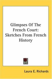 Glimpses of the French Court PDF