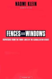 Cover of: Fences and windows by Naomi Klein