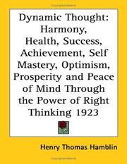 Dynamic Thought PDF