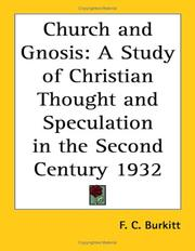 Church and Gnosis PDF