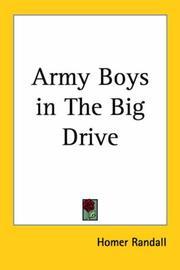 Army Boys in The Big Drive PDF
