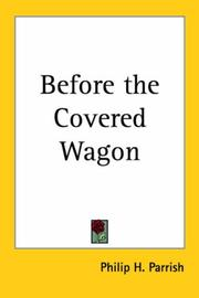 Before the covered wagon PDF