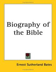 Biography of the Bible PDF