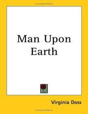 Man upon earth PDF