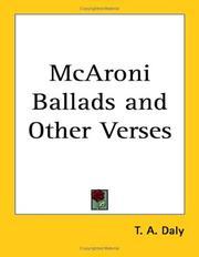 McAroni Ballads and Other Verses PDF