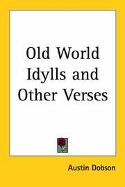 Old World Idylls and Other Verses PDF