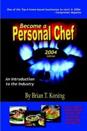 Become A Personal Chef 2004 PDF