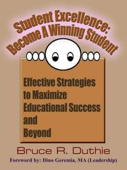 Student Excellence: Become A Winning Student PDF