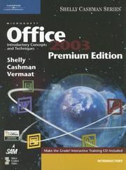 Microsoft Office 2003 by Gary B. Shelly