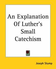 An Explanation of Luther's Small Catechism PDF