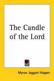 The candle of the Lord by Myron Taggart Hopper