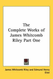 The Complete Works of James Whitcomb Riley Part One PDF
