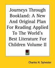 Journeys Through Bookland PDF