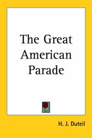 The Great American Parade PDF