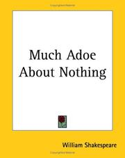 Cover of: Much Adoe About Nothing by William Shakespeare