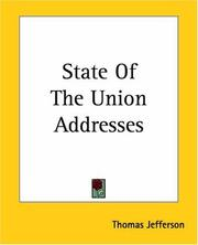 State Of The Union Addresses PDF