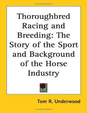 Thoroughbred Racing and Breeding PDF