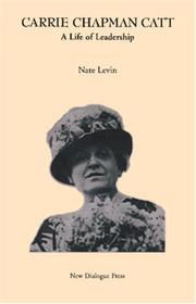 Carrie Chapman Catt by Nate Levin