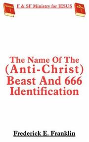The Name Of The (Anti-Christ) Beast And 666 Identification PDF