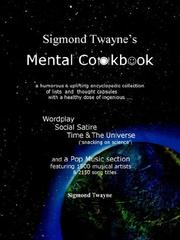 Sigmond Twayne's Mental Cookbook PDF