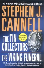 The Tin Collectors/The Viking Funeral (A Shane Scully Novel) by Stephen J. Cannell