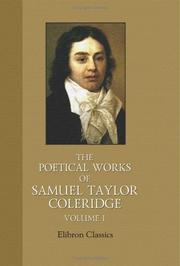 The Poems of Samuel Taylor Coleridge by Samuel Taylor Coleridge
