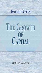 The Growth of Capital PDF