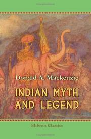 Indian myth and legend by Donald Alexander Mackenzie