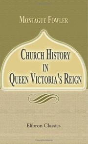 Church History In Queen Victoria's Reign PDF