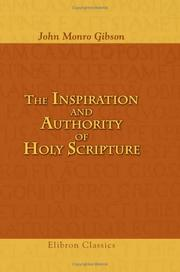 The inspiration and authority of Holy Scripture PDF