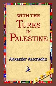 With the Turks in Palestine PDF