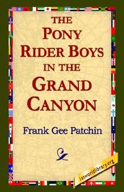 The Pony Rider Boys in the Grand Canyon PDF