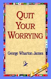 Quit Your Worrying! PDF