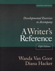 Developmental Exercises to Accompany A Writer's Reference PDF