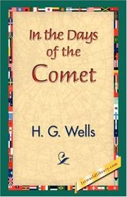 Cover of: In the Days of the Comet by H. G. Wells