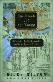 The riddle and the knight by Giles Milton