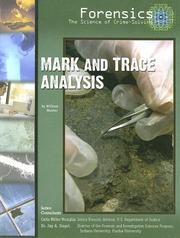Mark and trace analysis by Hunter, William