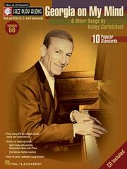 Georgia on My Mind and Other Songs by Hoagy Carmichael (Jazz Play Along, Vol. 56) PDF
