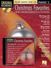 Christmas Favorites by Hal Leonard Corp.