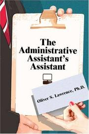 The Administrative Assistant's Assistant PDF