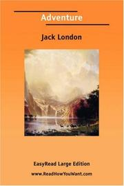 Cover of: Adventure [EasyRead Large Edition] by Jack London