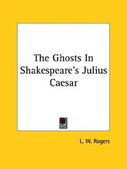 The Ghosts In Shakespeare's Julius Caesar PDF