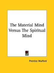 The Material Mind Versus The Spiritual Mind PDF